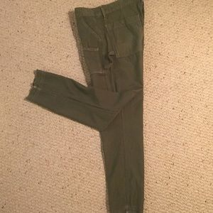 Citizens of Humanity cargo pants, army green, 25